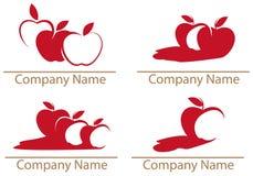 Apple, maçãs ilustração stock