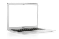 Apple Mac book Air laptop Royalty Free Stock Images