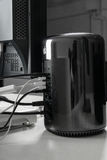 Apple-MAC pro Stock Afbeelding