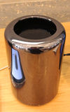 Apple Mac Pro. SEPTEMBER 2014 - BERLIN: the new Apple Mac Pro, Berlin Royalty Free Stock Images