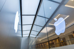 Apple Mac Store. In guangzhou china royalty free stock images