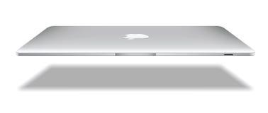 Apple macbook航空 皇族释放例证