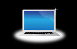 Apple macbook air laptop computer Stock Photos