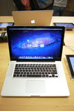 Apple macbook pro Stock Photography