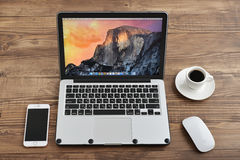 Apple MacBook Pro Arkivfoto