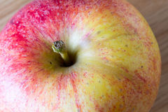 Apple macro Stock Photography