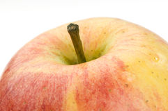 Apple macro shot Royalty Free Stock Images