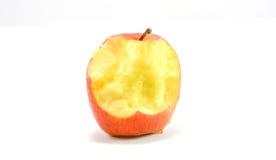 Apple, mangent et portent des fruits Images libres de droits