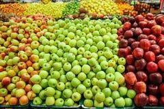 Apple market Stock Photos