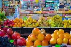Apple market. Apple orange graps fruit markets Royalty Free Stock Image