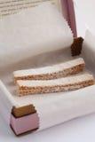 Apple marshmallow sticks royalty free stock image