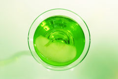 Apple Martini Imagem de Stock Royalty Free