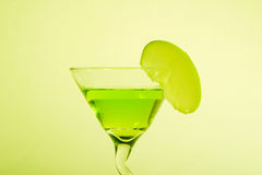 Apple Martini. With Apple on the side Royalty Free Stock Photography