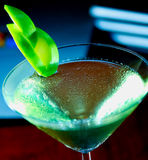 Apple Martini Lizenzfreie Stockfotos