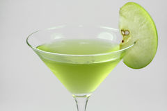 Apple martini Foto de Stock