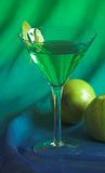 Apple Martini. Cocktail stock images