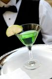 Apple Martini Drink Stock Images