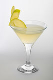 Apple martini Stock Image