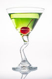 Apple Martini. Shot in the studio. Not isolated on white Royalty Free Stock Photography