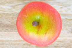 Apple-Marzipan stockfotografie