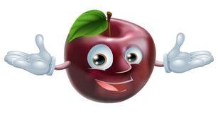 Apple mascot Stock Image