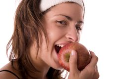 Apple meal Royalty Free Stock Photo
