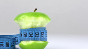 Apple and Measurement stock footage