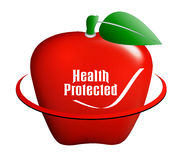 Apple medical icon Royalty Free Stock Photography