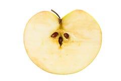 Apple medio Fotos de archivo libres de regalías