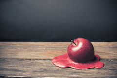 Free Apple Melting On The Floor Stock Photography - 17630462