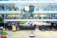 Apple memorizza Immagini Stock Libere da Diritti