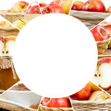 Apple-Mengelingsplakken Stock Foto