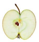 Apple mezzo Fotografie Stock Libere da Diritti