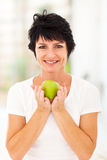 Apple middle aged Royalty Free Stock Images