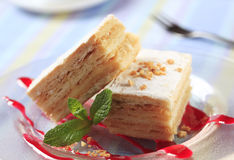 Apple Mille-Feuille Stock Images