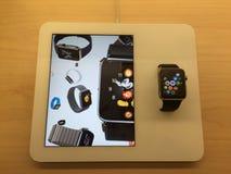 Apple mira Imagen de archivo libre de regalías