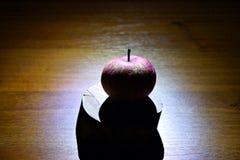 Apple misterioso fotografie stock