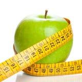 Apple mit einem Meter Stockfotos