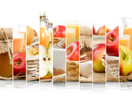 Apple Mix Slices Royalty Free Stock Images