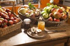 Apple moissonnent Images stock