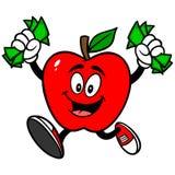 Apple with Money Stock Photos