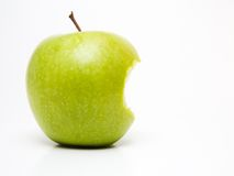 Apple mordu image stock
