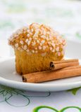 Apple muffin Royalty Free Stock Photo