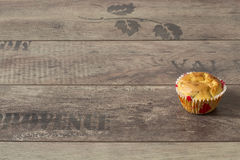 Apple muffin Royaltyfria Bilder
