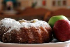 Apple muffin Fotografering för Bildbyråer