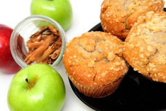 Apple-Muffins Lizenzfreies Stockfoto
