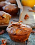 Apple muffins Stock Photography