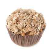 Apple muffins with shtreyzel isolated Stock Images