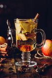 Apple Mulled Drink. Stock Photo