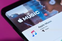 Free Apple Music Application Stock Images - 118666354
